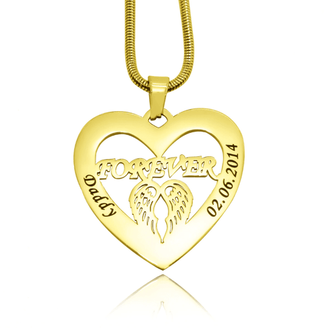 Angel in My Heart Necklace Personalized Belle Fever 3
