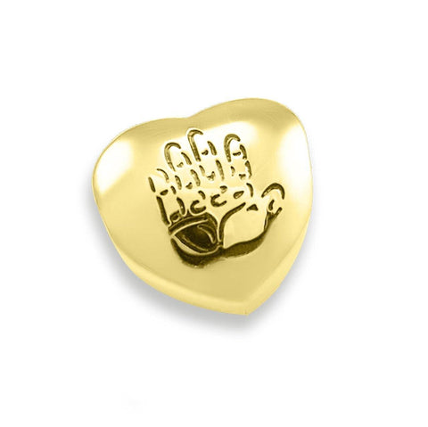 Personalized Hand on My Heart Charm For Moments Bracelet Gold Belle Fever 3