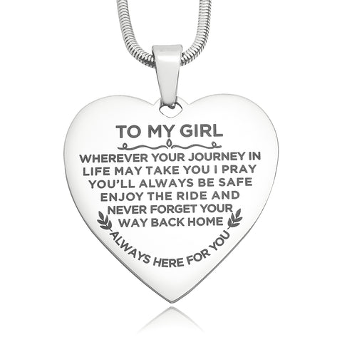 Heart Necklace - Always Here For You