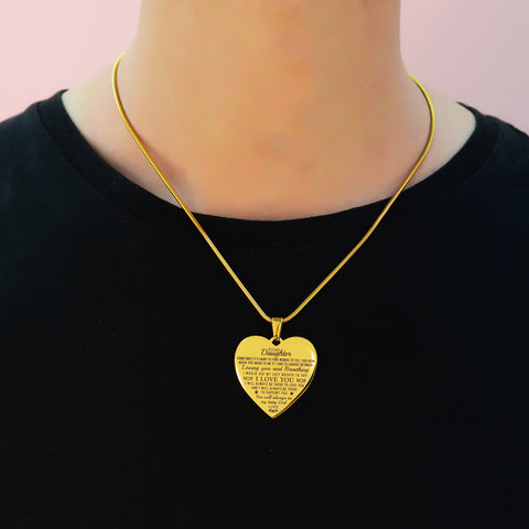 Heart Necklace I Love You Belle Fever 5