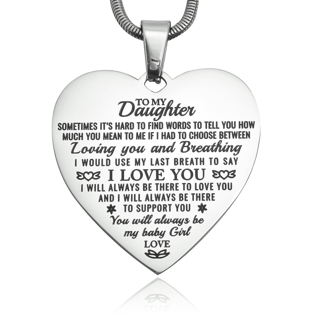 Heart Necklace I Love You Belle Fever 2