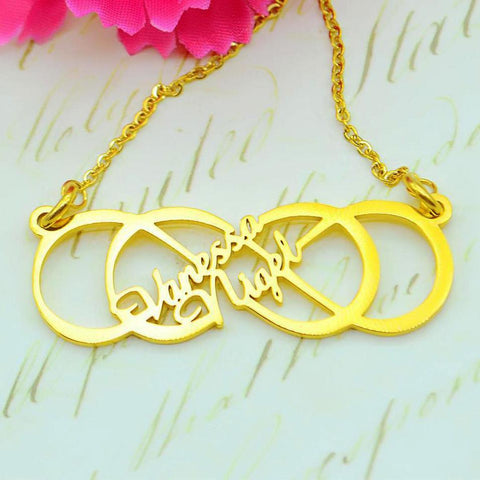 Infinity X Infinity Name Necklace Belle Fever 1