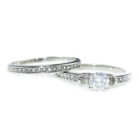 Love Crystal Ring Set Belle Fever 2