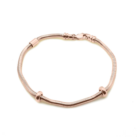 New Moments Bracelet with Extension Rose Gold Belle Fever 4