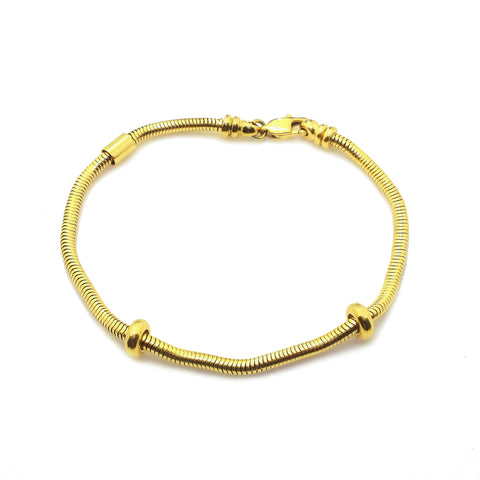 New Moments Bracelet with Extension Gold Belle Fever 3