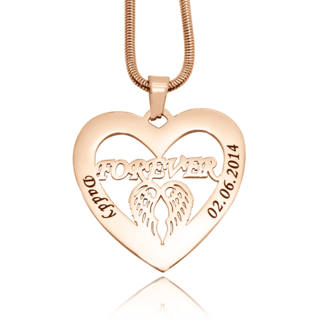 Angel in My Heart Necklace Personalized Belle Fever 4