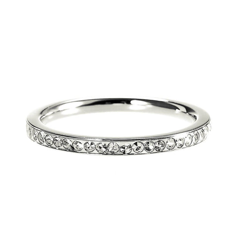 Shimmering Love Ring Silver Belle Fever 2