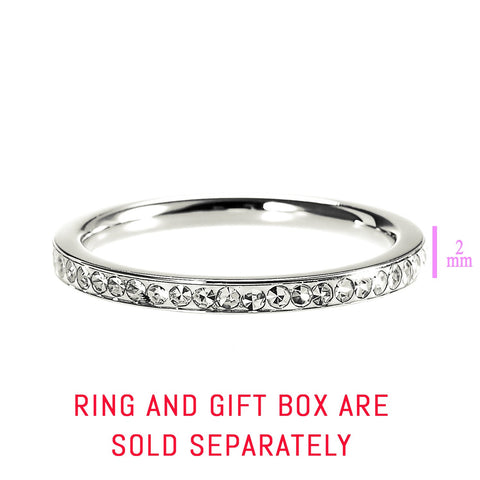 Shimmering Love Ring