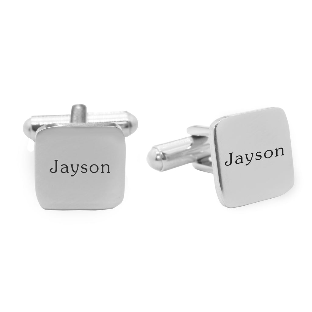 Personalized Square Cufflink Belle Fever 2