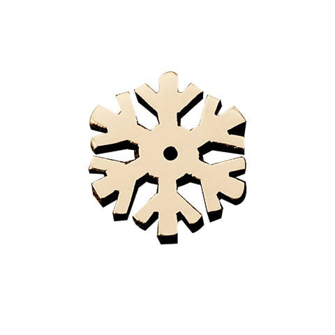 Personalized Snowflake Frozen Charm For Dream Locket Rose Gold Belle Fever 4