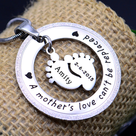 Sparkling Cant Be Replaced Necklace Single Feet 18mm Silver Personalized Belle Fever 1