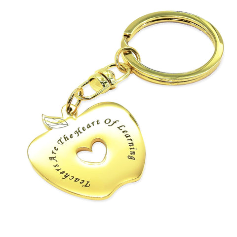 Personalized Teacher's Keyring Gold Personalized Belle Fever 2