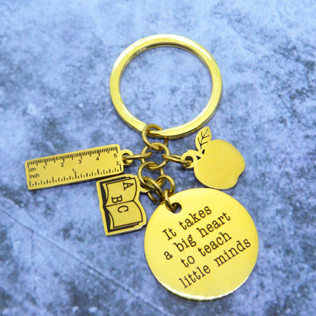 Teacher Life Keyring Personalised Belle Fever 1