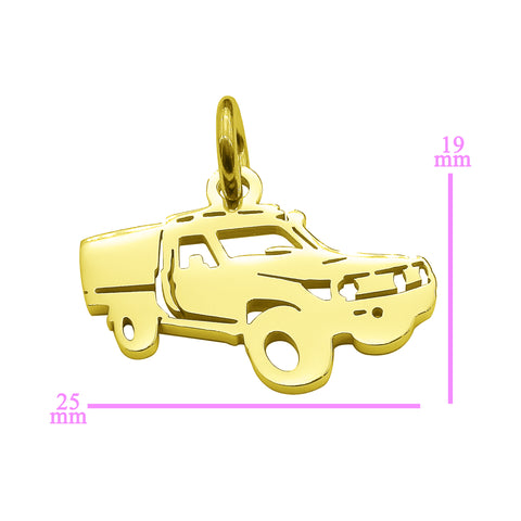 Ute Canopy Charm for Keyring Gold Belle Fever