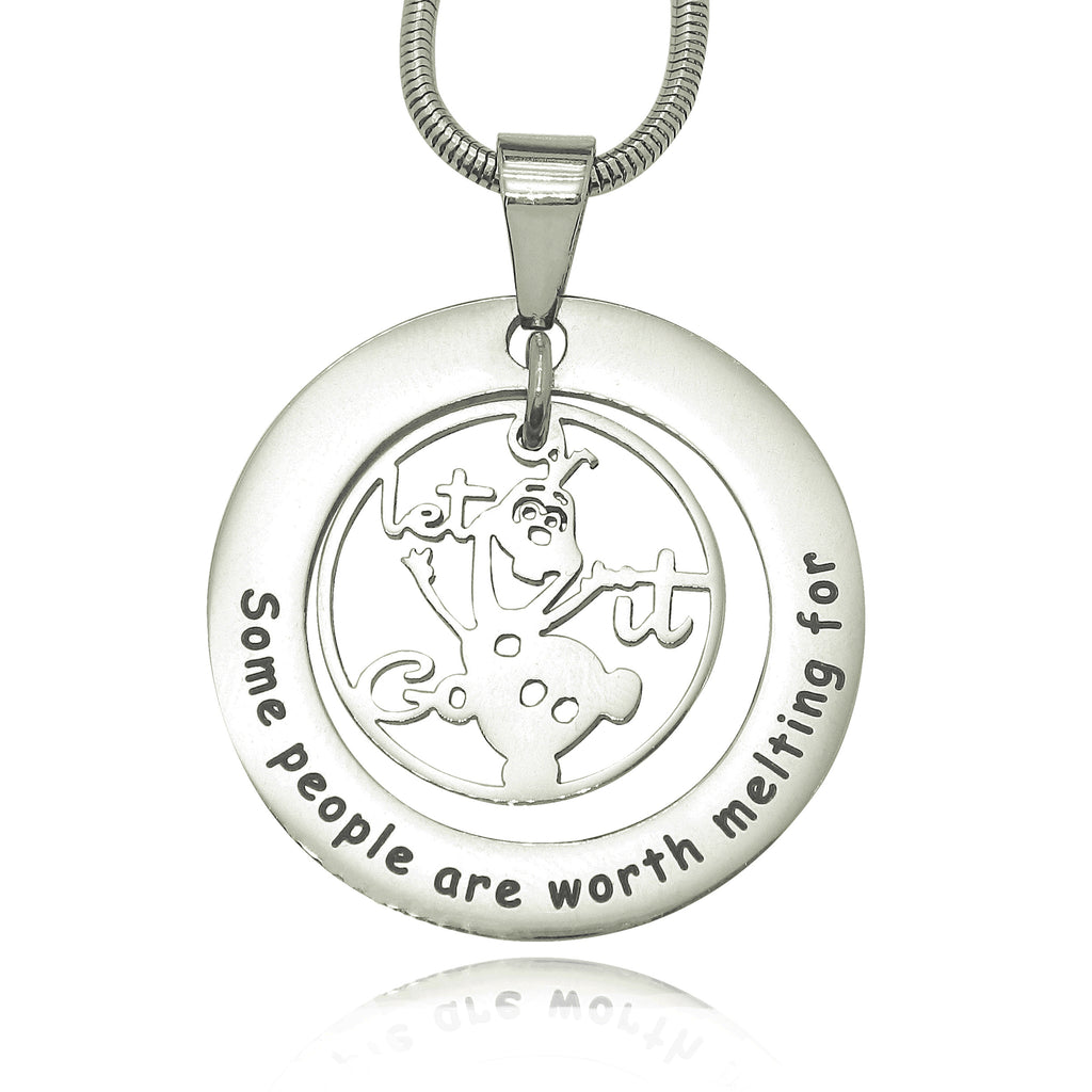 Worth Melting Necklace Personalized Belle Fever 2