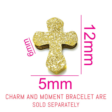 Sparkling Cross Charm for Moments Bracelet