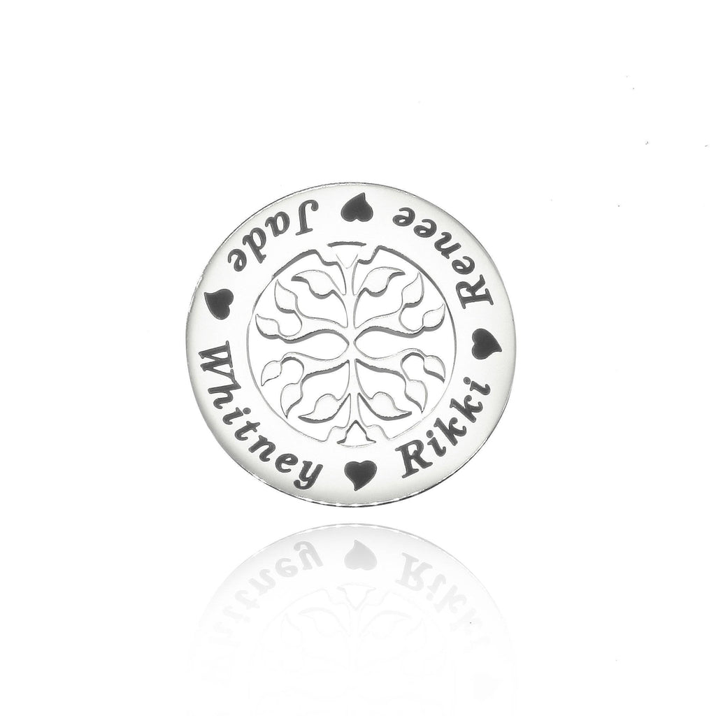 New Family Tree Charm for Dream Locket Silver Personalized Belle Fever 2