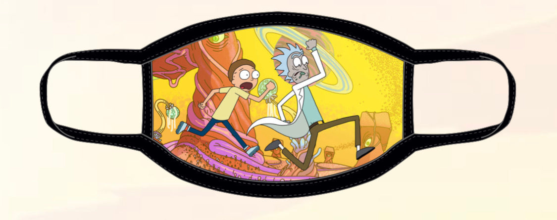 RICK & MORTY (RUNNING)