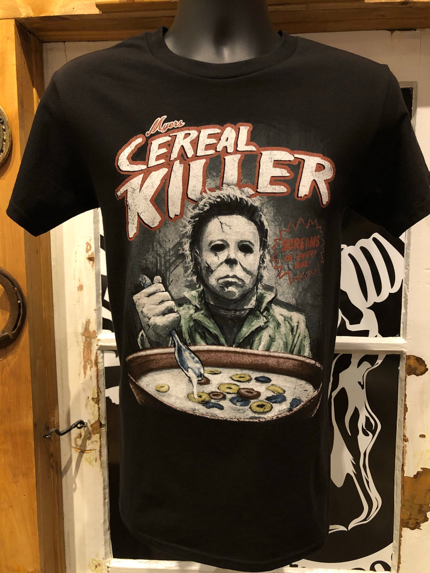 MIKE MYERS CEREAL K