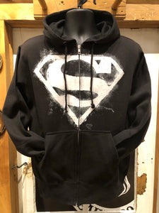 SUPERMAN CHALK ZIP