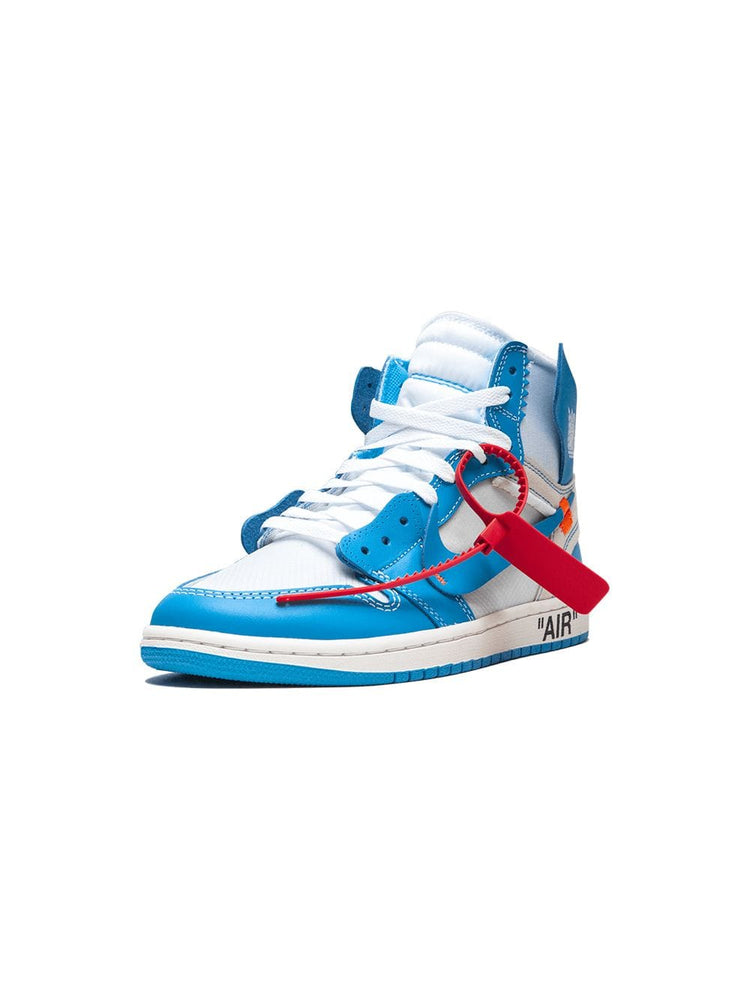 Nike Air Jordan 1 NRG Nike x OFF-WHITE - UNC AQ0818-148 In stock Color: Blue Red White