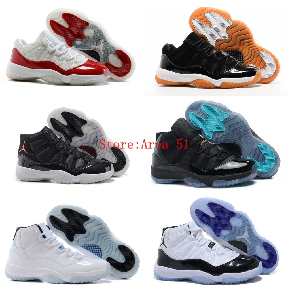 New arrival 100% original high quality retro Jordan 11 shoes for men cheap sale US size 8-13 Free Shipping