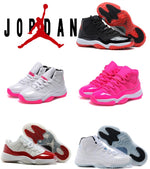 Retro Jordan 11 women authentic top quality best service and fast shipping us size 5.5-8.5 With Box