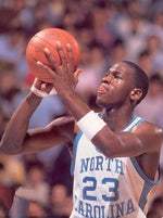 "34 Michael Jordan North Carolina 24""x32"" Poster"