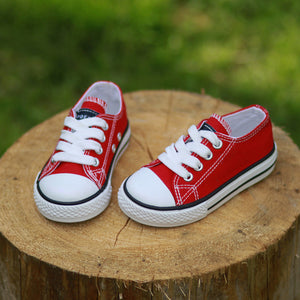 Canvas Sport Shoes For Kids - cybershoestore.com