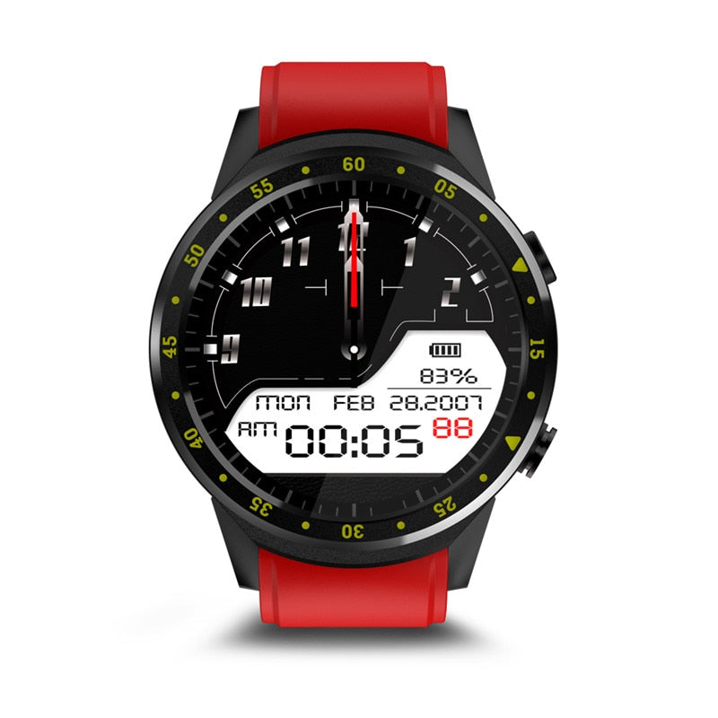 F1 Sports Smartwatch Phone