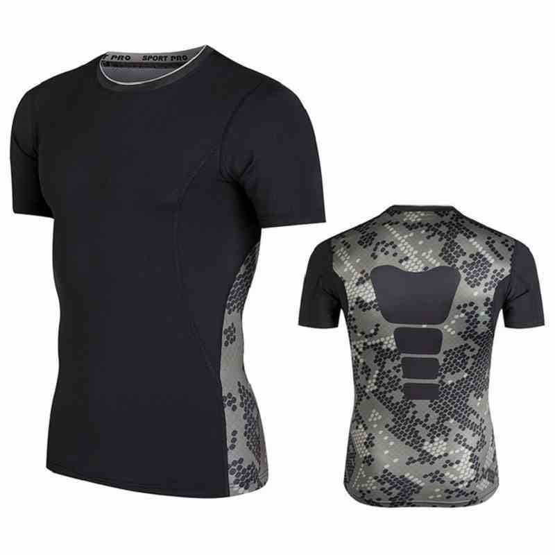 Quick Dry Compression Workout GYM Fitness Tees
