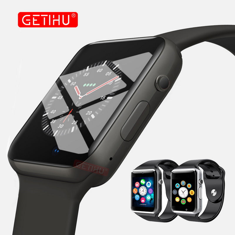 Smart Watch A1 Smartwatch For Apple iPhone Android Samsung Bluetooth Digital Wrist Sport Watch SIM Card Phone With Camera