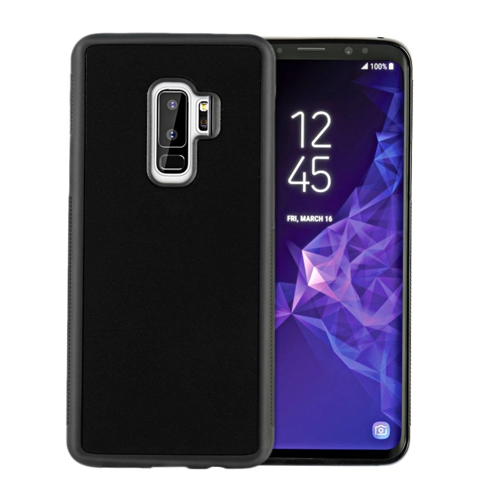 Anti Gravity Phone Cases for Samsung Galaxy S9 S9 Plus Cover Nano Suction Adsorption Wall Case for Samsung S9 Capa - cybershoestore.com