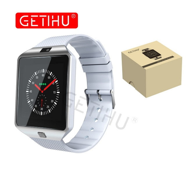 Smartwatch Smart Watch Digital Men Watch For Apple iPhone Samsung Android Mobile Phone Bluetooth SIM TF Card Camera - cybershoestore.com