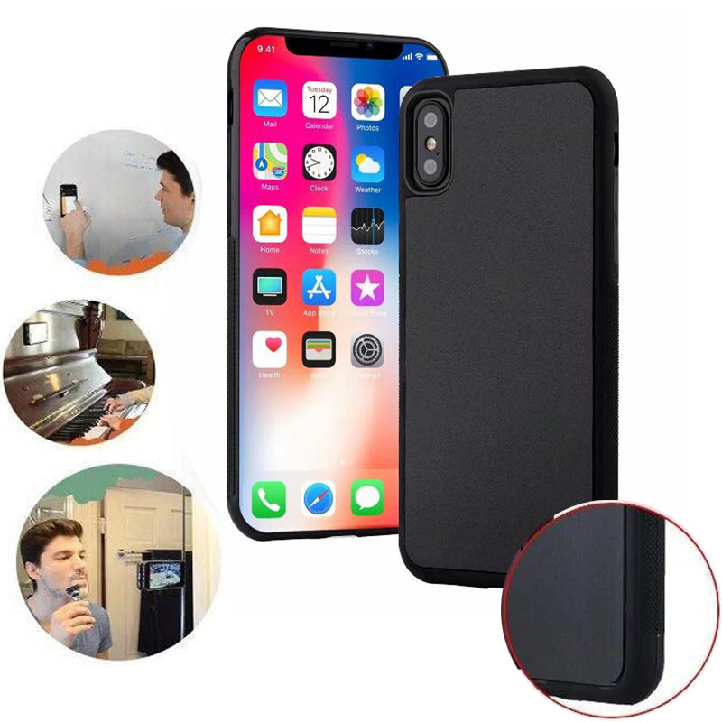 Anti Gravity Phone Case For iPhone X XS XS Max 7Plus 7 8Plus 8 6 6sPlus Case Coque Magical Nano Suction Adsorption Case Cover