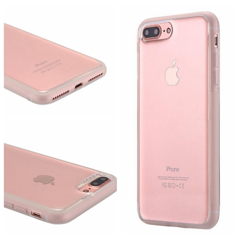 Clear Anti Gravity Phone Case for iPhone 5 5S SE 6 7 8 Plus X XR XS MAX Anti-gravity Antigravity Transparent Case Nano Suction - cybershoestore.com