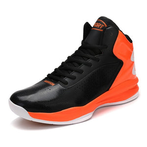 Outdoor Sports High Top Cushion Sneakers Big Size  Men - cybershoestore.com