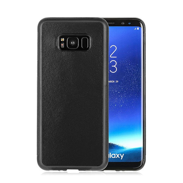 Anti Gravity Phone Cases for Samsung Galaxy S8 S8 Plus Fundas Magical Nano Suction Cover Anti-gravity Adsorbed Adsorption Case - cybershoestore.com