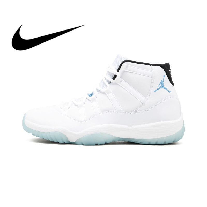 NIKE Air Jordan 11 Retro Legend Blue Mens Basketball Shoes