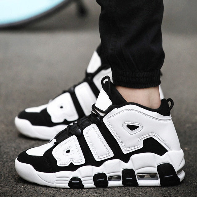 Brand Basketball Shoes Men Women High-top Sports Air Cushion Jordan Hombre Athletic Mens Shoes Comfortable Breathable Sneakers - cybershoestore.com