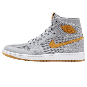 Nike Air Jordan 1 Retro Hi Flyknit AJ1 Men's Basketball Shoes Sport Outdoor Sneakers Athletic - cybershoestore.com