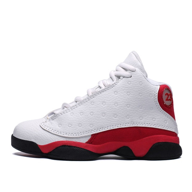 HoSale New Kids' Sneakers Children's basketball shoes damping slip Breathable  women jordan basketball shoes - cybershoestore.com