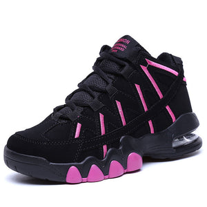 Women's Air Cushion Basketball ShoesJordan Retro Boots Breathable Outdoor Sneakers Non-slip Training Shoes - cybershoestore.com