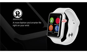 Bluetooth Smart Watch Series 4 SmartWatch Case for Apple iOS iPhone Xiaomi Android Smart Phone samsung Apple Watch (Red Button) - cybershoestore.com