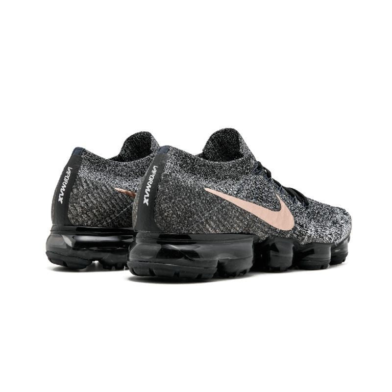 Nike AIR VAPORMAX FLYKNIT Breathable Men's Original Running Shoes Dark Grey Non-slip Outdoor Sports Sneakers - cybershoestore.com