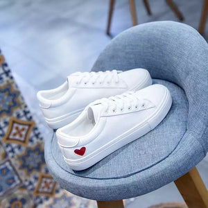 White Sneakers For Women - cybershoestore.com
