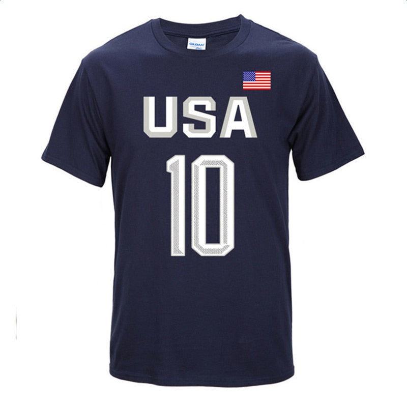 Basketball Number 10 Short Sleeve T-Shirts
