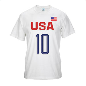 Basketball Number 10 Short Sleeve T-Shirts - cybershoestore.com