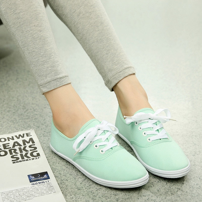 Casual Canvas Shoes For Woman - cybershoestore.com