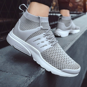 hot sell big size spring sports Running Shoes Breathable Trainer shoes Fitness jogging trainers High Quality man Sneakers - cybershoestore.com